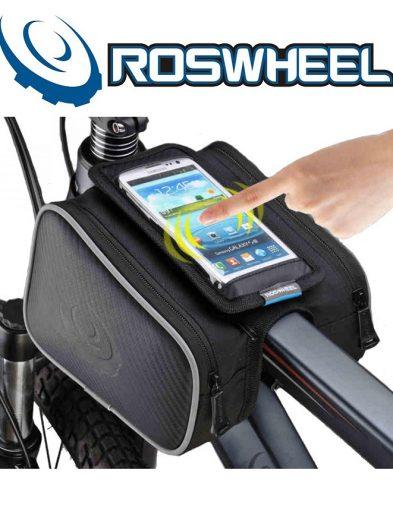 Tas Sepeda Depan Roswheel (Kantong HP)