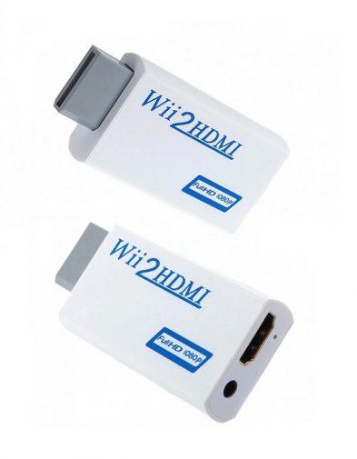 Nintendo Wii to HDMI Converter + Jack Audio