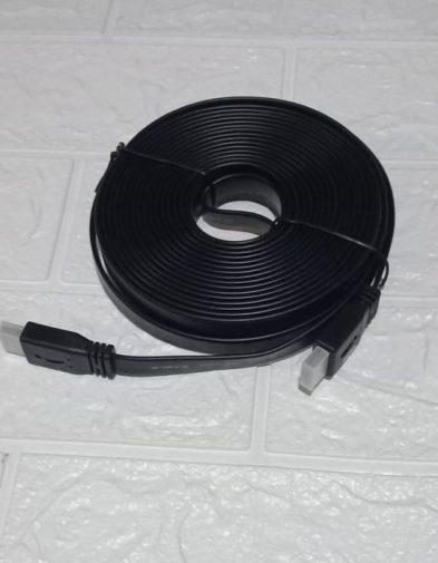 Kabel HDMI 10m Flat