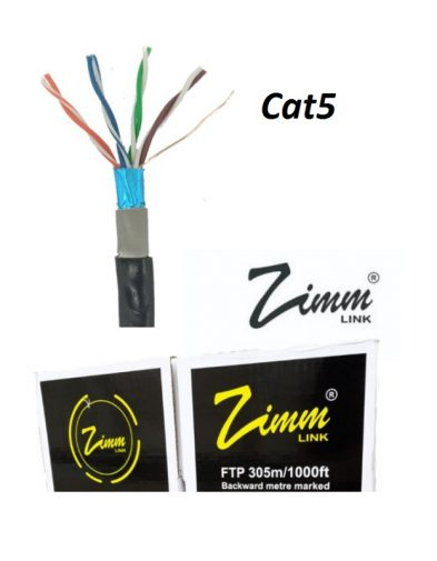 Zimmlink Kabel Lan Internet FTP Cat5 Outdoor per meter