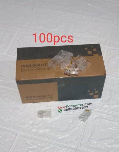 RJ45 Connector Lan 100 pcs / 1 Pak