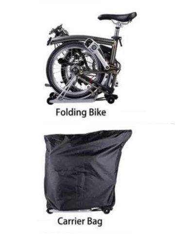 Cover Sarung Mantel Sepeda Lipat