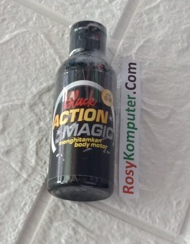 Penghitam Body Motor Cairan Black Action Magic