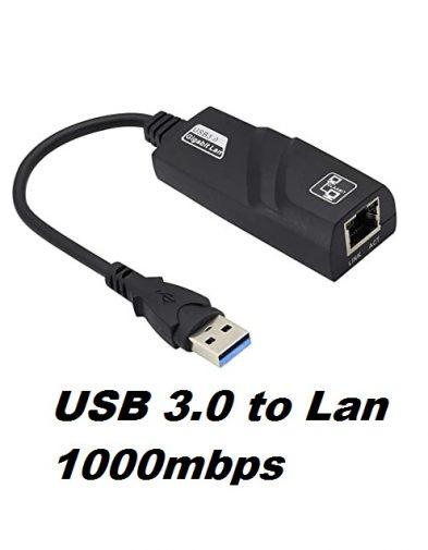 USB 3.0 to LAN Ethernet Adapter Gigabit